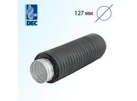 Шумоглушитель черный 127 мм x 0,5 м DEC Sonodec 25 GLX Combi<br>