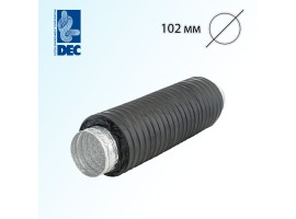 Шумоглушитель черный 102 мм x 0,5 м DEC Sonodec 25 GLX Combi<br>