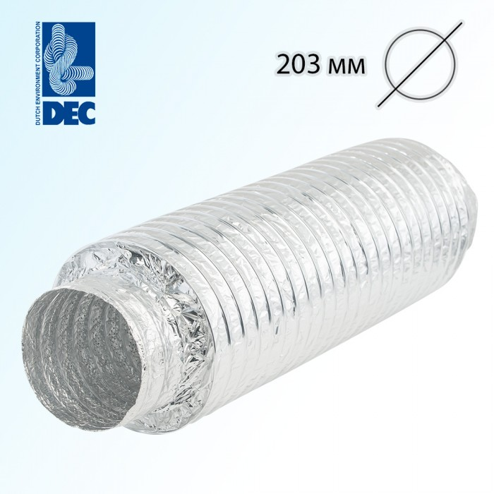 Шумоглушитель 203 мм x 0,5 м DEC Sonodec 25 GLX