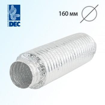 Шумоглушитель 160 мм x 0,5 м DEC Sonodec 25 GLX