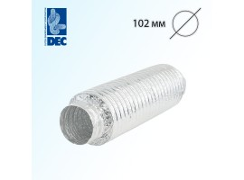 Шумоглушитель 102 мм x 0,5 м DEC Sonodec 25 GLX<br>