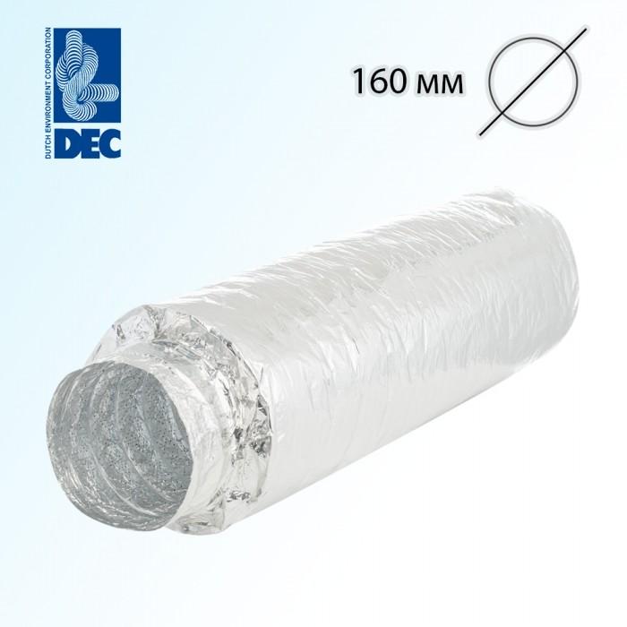 Шумоглушитель 160 мм x 0,5 м DEC Sonodec 25 TRD