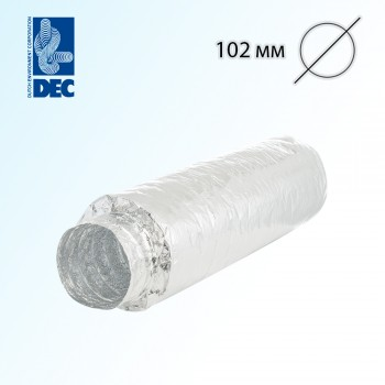 Шумоглушитель 102 мм x 0,5 м DEC Sonodec 25 TRD