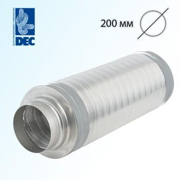 Шумоглушитель 200 мм x 0,5 м DEC TSD25