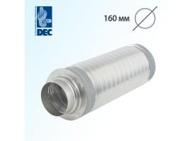 Шумоглушитель 160 мм x 0,5 м DEC TSD25<br>