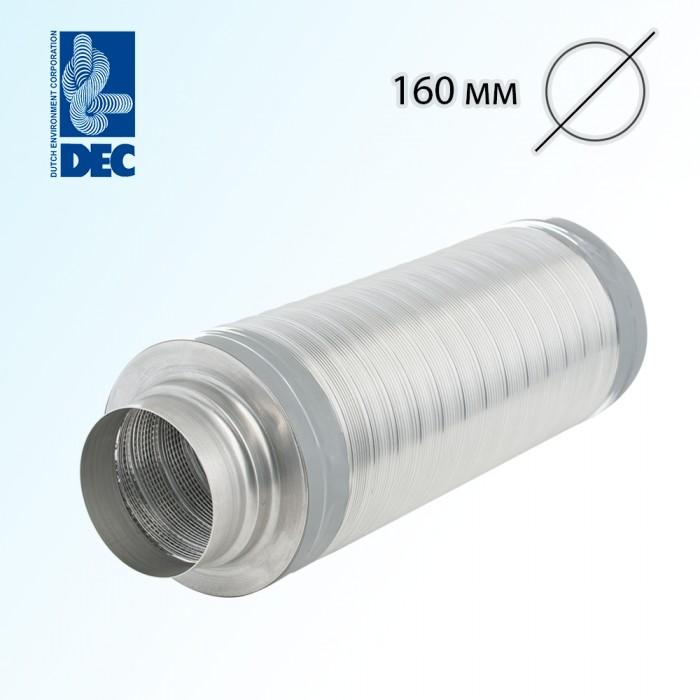 Шумоглушитель 160 мм x 0,5 м DEC TSD25
