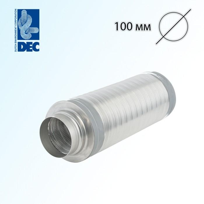 Шумоглушитель 100 мм x 0,5 м DEC TSD25