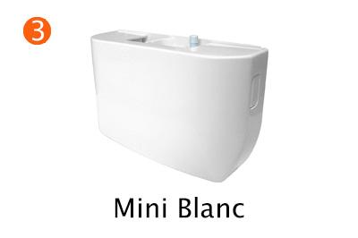Мини-помпа ASPEN Mini blanc